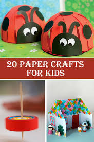 Easy Paper Craft For Kids - 20 amazing u0026 easy paper crafts for kids u2013 diys to do