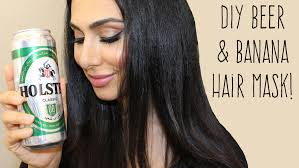 banana for hair diy awesomely shiny hair with banana mask huda beauty