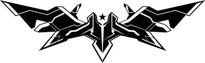 black rock shooter black rock shooter the game logo vector by m4he on deviantart