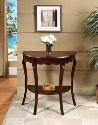 Corner Accent Table Passport By Walnut Half Round Console Table