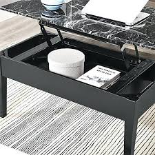 lift top storage the living faux marble lift top storage coffee