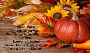 thanksgiving church wide family meal eastside baptist church of
