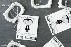 bulk halloween treat bags cute non candy halloween treat idea and free printable the polka