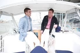 on board with nautical dapper style