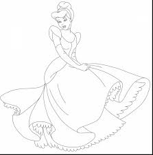 extraordinary disney princess cinderella coloring pages