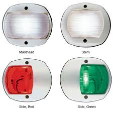 Boat Navigation Lights Perko 170 Series Led Navigation Lights West Marine