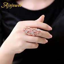 large finger rings images Buy ajojewel beautiful exaggerated large hollow jpg