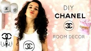 diy chanel room decor pillows candles demiana acis youtube