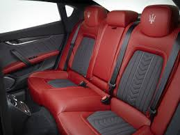 maserati interior new maserati interiors fit for the fashion runway toronto star