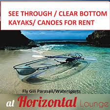 see through u0026 clear bottom kayaks gili islands home facebook