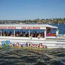 Seattle Tourist Map by Ride The Ducks Of Seattle
