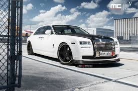 roll royce custom dub magazine mc customs vorsteiner rolls royce ghost on vellano