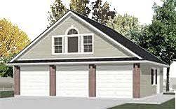 3 car garage with loft garage plans 3 car with attic truss loft 1208 1b 32 10 x 26