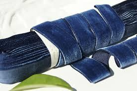 velvet ribbon blue velvet ribbon trim 22mm