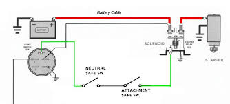 relay wiring diagram starter wiring diagrams instruction