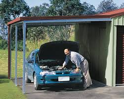 Garage Awning Kit Quality Flat Roof Garage Kits Built For Life Totalspan