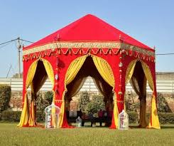 moroccan tents trends in indian wedding tents this season indian tents