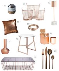 Copper Home Decor Get The Look 40 Modern Copper Home Accessories Stylecarrot
