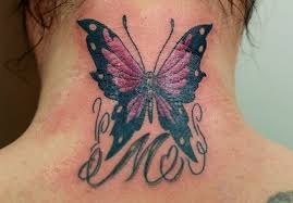 butterfly on neck back photo 3 2017 photo