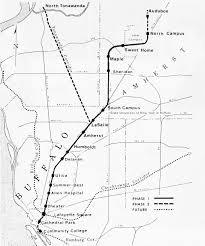 Amherst College Map Buffalo Metro Rail