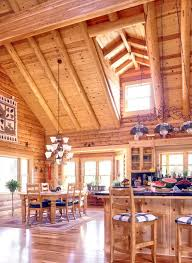 log home open floor plan log homes inside u0026 out pinterest