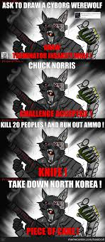 Meme Insanity Wolf - terminator insanity wolf by halotroll meme center