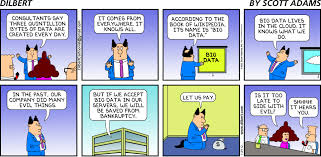 dilbert u0027s view on big data business comics pinterest big