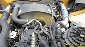 detroit diesel mercedes benz om926la running engine youtube