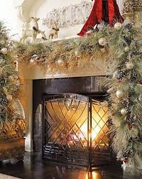 Garland Hangers For Banister Best 25 Fireplace Garland Ideas On Pinterest Wedding Fireplace