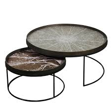 notre monde u0027s entire collection trays tables and mirrors