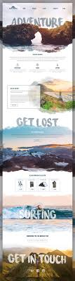 homepage designen upcoming tours discovery photo tours website design
