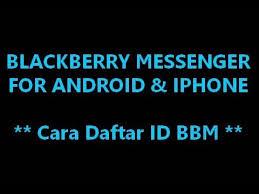 membuat id card bbm cara membuat id bbm for android dan iphone youtube