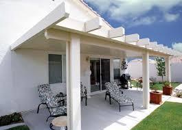 aluminum patio cover solid 10 u0027 x 40 u0027