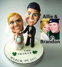 cake toppers bobblehead custom bobblehead wedding cake toppers wedding cake cake ideas