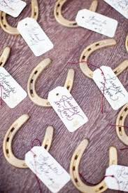 horseshoe wedding favors wedding favor idea lucky horseshoe adorable and unique wedding