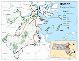Mbta Map Boston by Assignment 2 Lau Introduction To Gis For Urban And