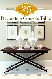 console table used as dining table white console projects what is a console table console mirrored