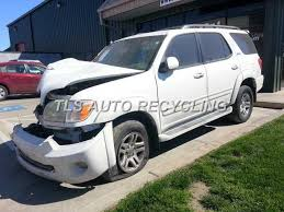 used toyota sequoia parts parting out 2005 toyota sequoia stock 4029bk tls auto recycling
