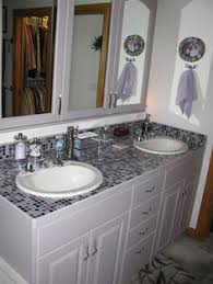 bathroom tile countertop ideas beautiful mosaic tile countertop bathroom for your small home