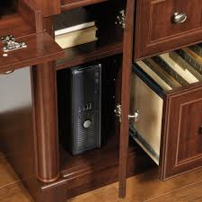 Computer Desk With Tower Storage Palladia Computer Desk With Hutch 420513 Sauder