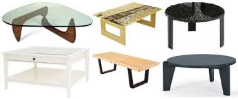 Nelson Bench Replica Coffee Table Roundup U2013 Design Sponge
