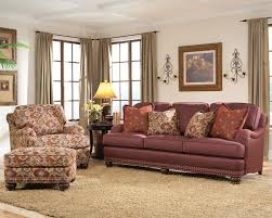 Accent Pillows For Brown Sofa by Traditional Sofa With Throw Pillows By Smith Brothers Wolf And