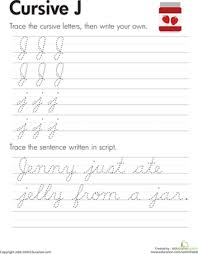 how write cursive handwriting cursive letters a z education