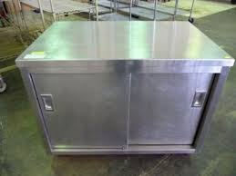 Used Stainless Steel Tables by Stainless Steel Tables U0026 Cabinets U2013 The Equipment Connection