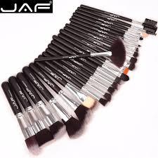 jaf 24 pcs premiuim makeup brush set high quality soft taklon hair