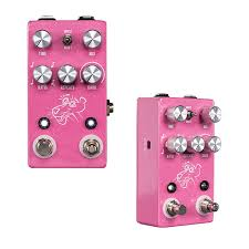 jhs delay jhs pedals pink panther digital delay w tap tempo vision guitar