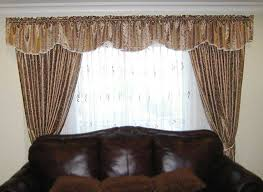 Dining Room Valance Curtains Curtain Valances For Bedrooms Ideas Bedroom Collection With Brown