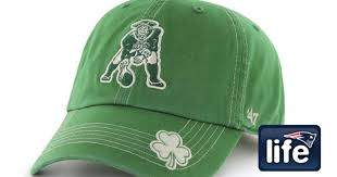go green in patriots gear for st patrick u0027s day new england patriots
