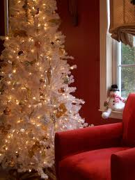 Christmas Tree With Gold Decorations Baby Nursery Alluring Christmas Tree Red Decorations White Room