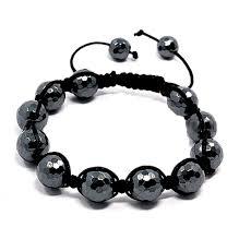 shamballa bead bracelet images Men 39 s hematite shamballa bracelet sakura designs jpg